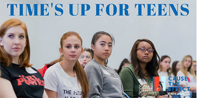 Time's Up For Teens: Join us on March 3rd.